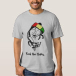 Feed the Chains, Rasta Basket Tee Shirts