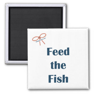 Feed The Fish Reminder Magnet