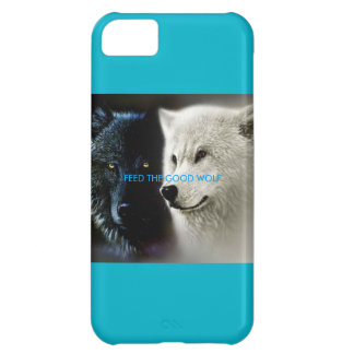 Feed the Good Wolf iPhone 5c case