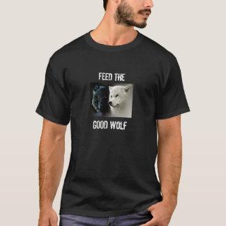 Feed The Good Wolf T-Shirt Men's Women Children