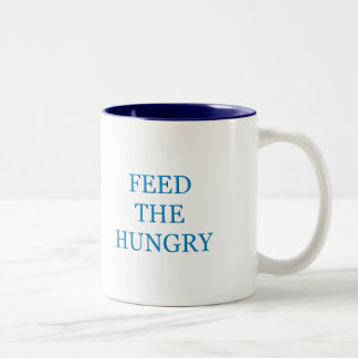 Feed The Hungry Two-Tone Coffee Mug