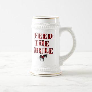 Feed The Mule Johan Franzen Beer Stein