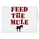 Feed The Mule Johan Franzen Card