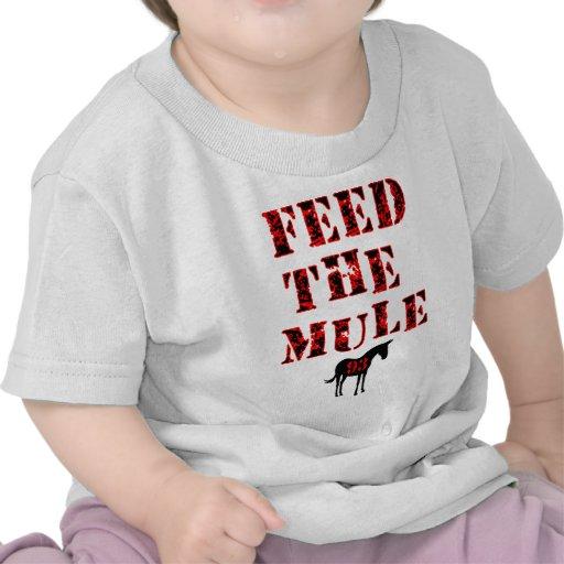 Feed The Mule Johan Franzen Shirt