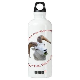 Feed The Rangers Aluminum Water Bottle