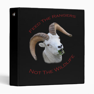 Feed The Rangers 3 Ring Binder
