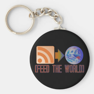 Feed the World Keychain