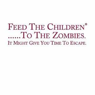 Feed The Zombies shirt