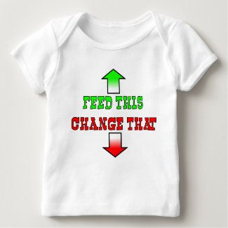 Feed This Funny Baby T-Shirt Humor