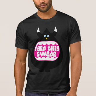 Feed this Swede funny destroyed t-shirt