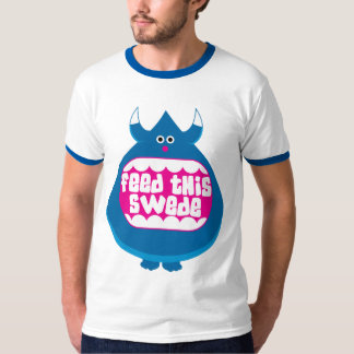 Feed this Swede funny Ringer T-Shirt