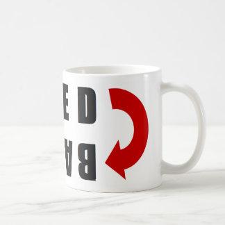 Feedback red and blue coffee mug