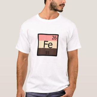 Feedee Iron Fe Periodic Table Feedist T-shirt