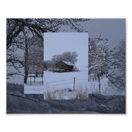 Feeder Building Photographic Print