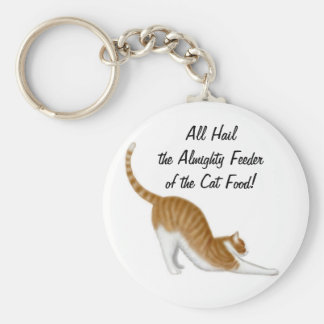 Feeder of the Cat Food Keychain