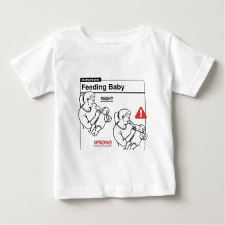 Feeding Baby Baby T-Shirt