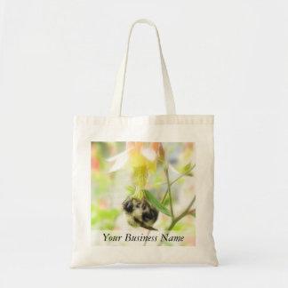 Feeding - Bee On Columbine Bag
