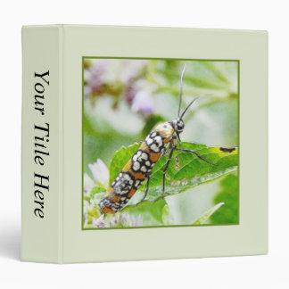 Feeding – Ermine Moth on Agastache 3 Ring Binder