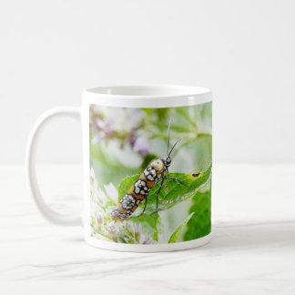 Feeding – Ermine Moth on Agastache Coffee Mug