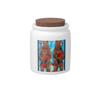 Feeding Frenzy Candy Jar