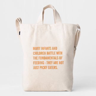 Feeding Matters Tote Bag - Orange