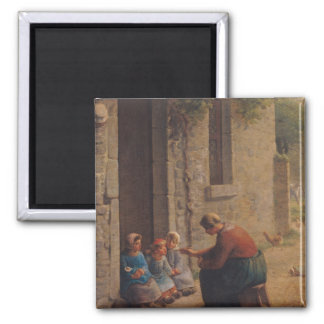 Feeding the Young, 1850 Magnet
