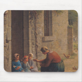Feeding the Young, 1850 Mouse Pad