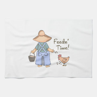 Feedn' Time! Kitchen Towel