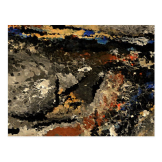 Feel abstract by rafi talby postcard