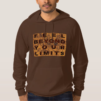 Feel Behond Your Limits 01 Brown Hoodie