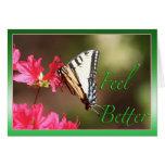 Feel Better Butterfly Card