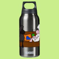 Feel Better Sheeple Insulated Water Bottle