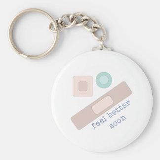 Feel Better Soon Key Chain