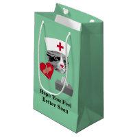 Feel Better Soon Nurse Cat