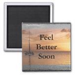 Feel Better Sunlit Ocean Set Fridge Magnets