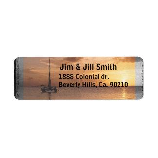 Feel Better Sunlit Ocean Set Label