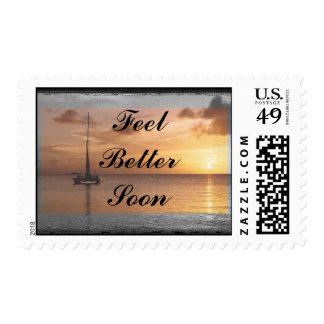 Feel Better Sunlit Ocean Set Stamp