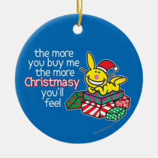 Feel Christmasy Ceramic Ornament