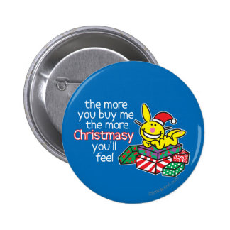 Feel Christmasy Pinback Button