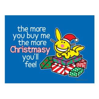 Feel Christmasy Postcard
