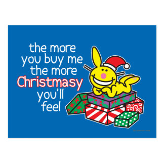 Feel Christmasy Postcards