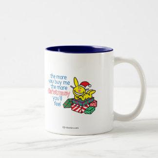 Feel Christmasy Two-Tone Coffee Mug