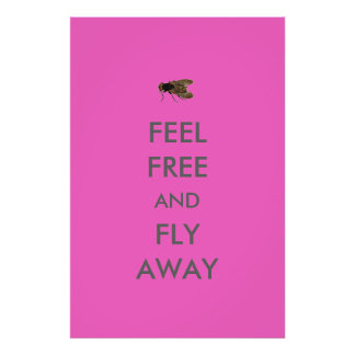 Feel Free and Fly Away Poster