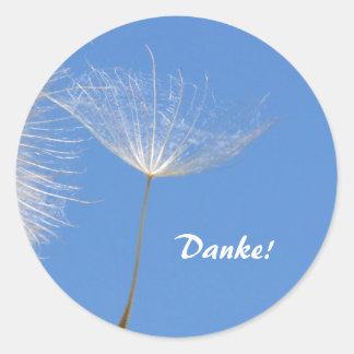 Feel free - Flying Dandelion seed Sticker