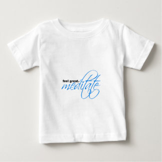 Feel great - meditate.  Peaceful apparel Shirts