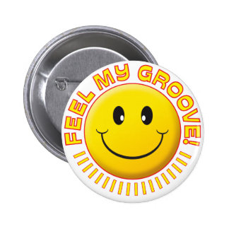 Feel Groove Smiley Button