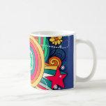 Feel Happy Vibrant Fun Mug