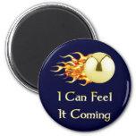 Feel It Coming Pinball Refrigerator Magnets