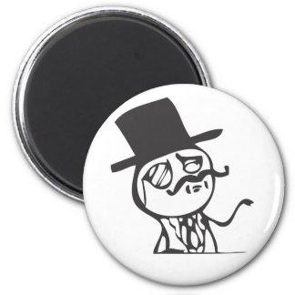 Feel Like A Sir 2 Inch Round Magnet