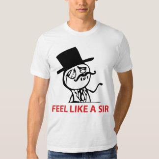 Feel Like A Sir - 2-sided American Apparel T-Shirt